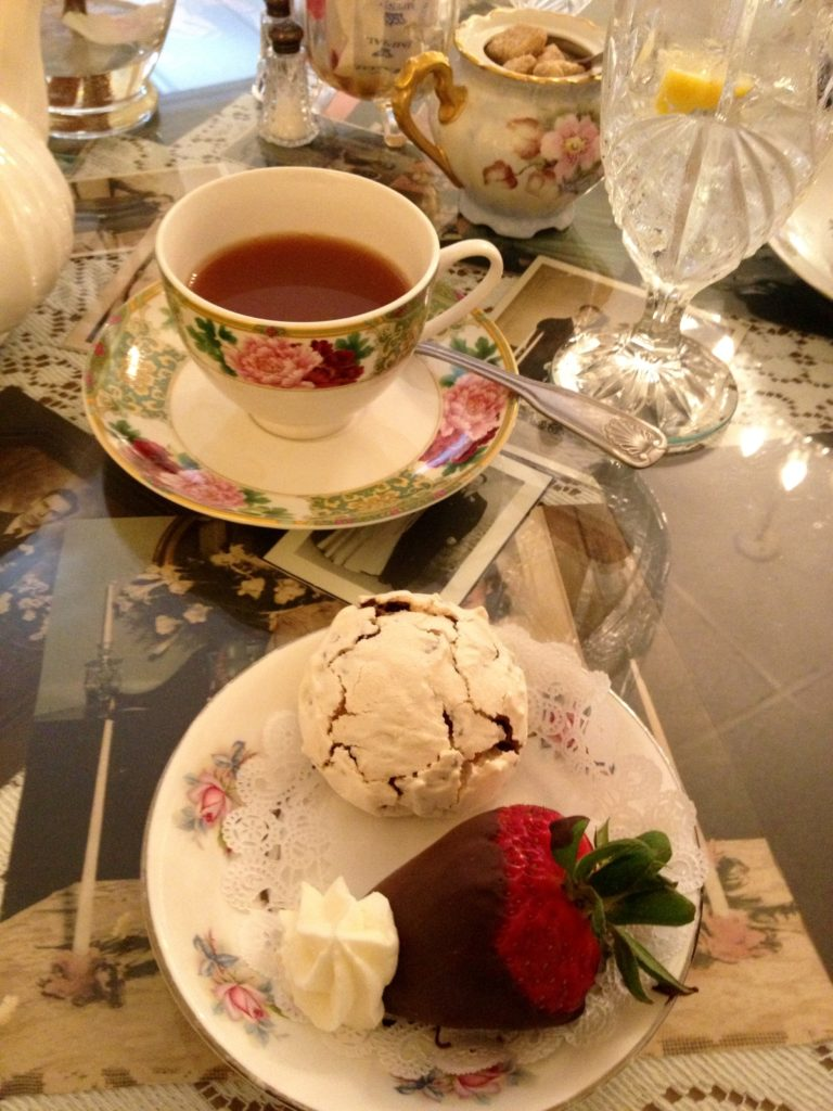 {Delicious Gluten Free Afternoon Tea at the Chocolate Angel in Richardson, Texas}