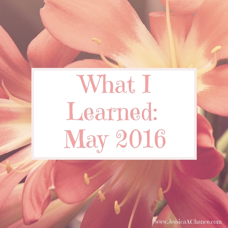May - what I learned-2