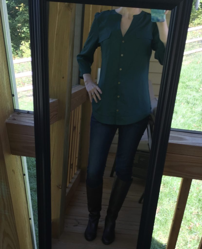 41Hawthorn Tameron Button Down Blouse - www.JessicaAChance.com